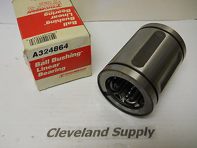 """THOMSON A324864 BALL BUSHING LINEAR BEARING 2/"""" X 3/"""" X 4/"""" NEW CONDITION IN BOX"""