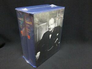 Martin-Gilbert-Churchill-A-Life-2-Volume-Set-NEW-SEALED