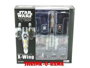 New in Box! Kaiyodo Revoltech Star Wars Revo 006 X-Wing Fighter