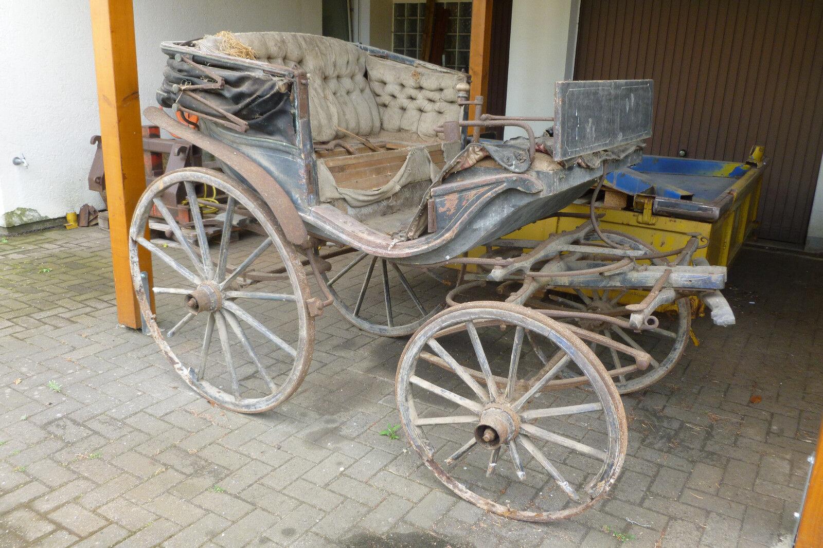 Alte Alte Alte Kutsche von ca. 1900 ccb8ad