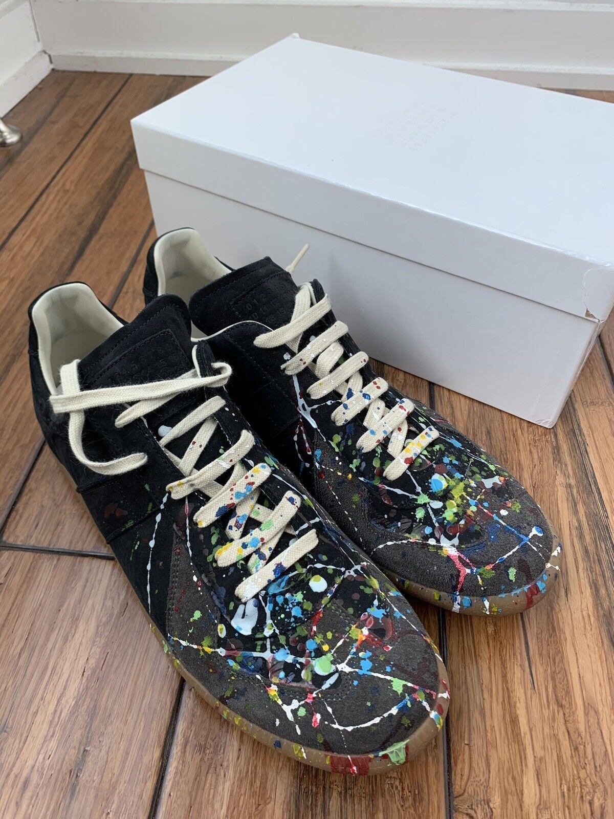 Maison Margiela Paint Splatter Shoes - Size 45 - image 1