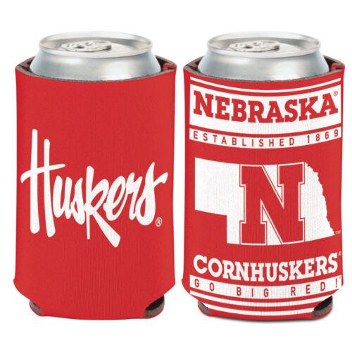 University of Nebraska Can Cooler 12 oz Koozie