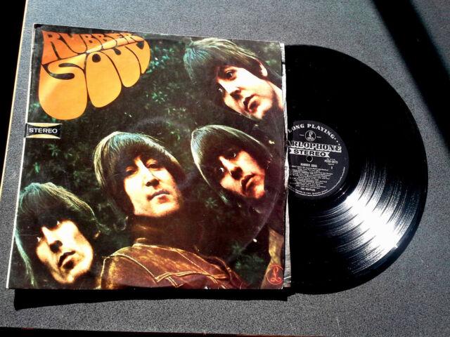 THE BEATLES RUBBER SOUL LP RECORD ORIGINAL AUSTRALIAN PSCO 3075