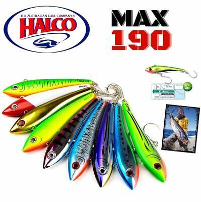 HALCO CUTTING EDGE TROLLING BIBLES MINNOW MAX 190