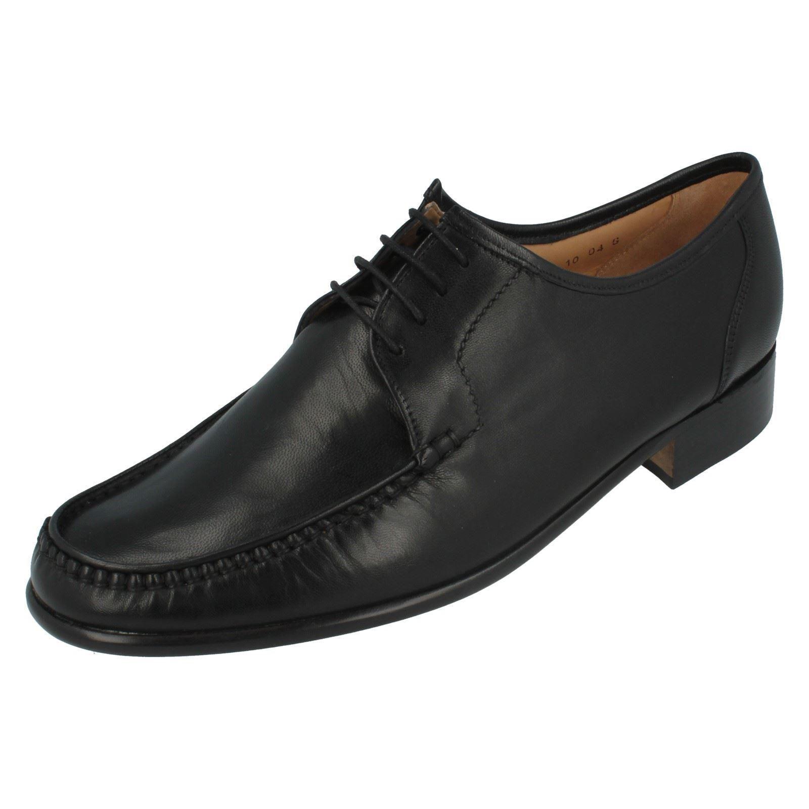 hombre Grenson Con Negro Con Grenson Cordones Leather Ajuste G Mocasines 514f73