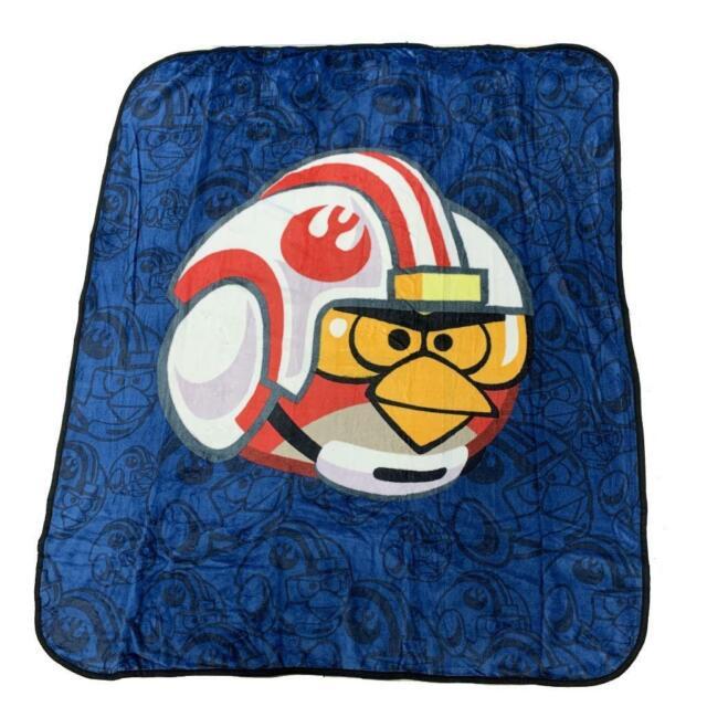 Angry Birds Plush Mink Blanket Raschel, Angry Birds Star Wars Full Size Bedding