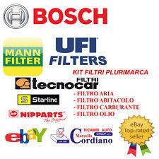 KIT TAGLIANDO FILTRI + OLIO FIAT SEDICI 1.9 JTD 88KW 120CV DAL 2006 -> 2009
