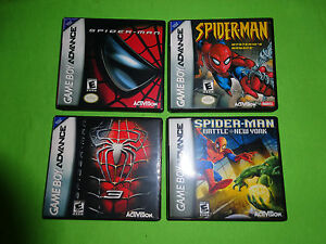 spiderman gba games