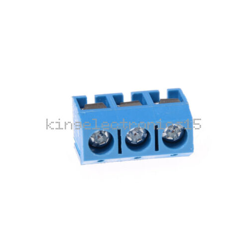 10//50PCS 5.08mm Pitch Panel KF301-2P KF301-3P Screw Terminal Block PCB Connector