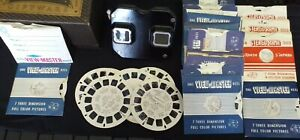 Sawyer's View Master With Mixed Lot Reels 1949 VintageTested & Working
