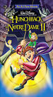 The Hunchback of Notre Dame II (VHS, 2002, Spanish Dubbed)