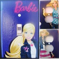 Barbie Custom Light Switch And Outlets Wall Plate Covers Room Decor