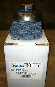 Weiler 3 Inch Coated Nylon Cup Polishers - Box of 14 Cup Polishers
