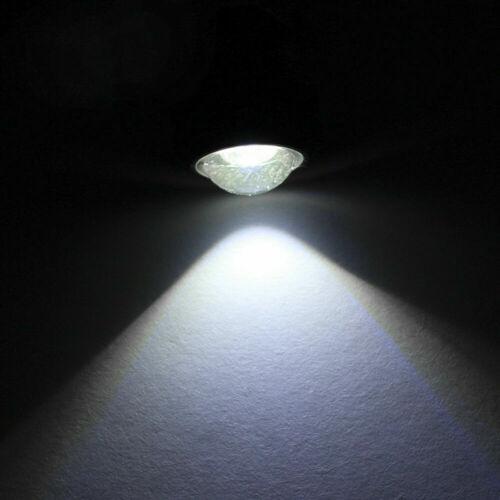 1Set//4pc White Marine Boat Yacht LED Navigation Light Bow Deck Starboard Lights