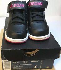 c86b92c82aa30e item 4 NIKE Jordan Toddler s 1 Flight 5 Premium (GT) Black Hyper Pink-White  Size 4c -NIKE Jordan Toddler s 1 Flight 5 Premium (GT) Black Hyper Pink- White ...