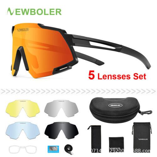 5 Lens X-TIGER Polarized Cycling Glasses Road Bike Cycling Eyewear Best Design
