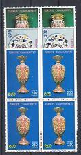 Turkey Scott 2006-2008 Mint NH blocks (Catalog Value $19.00)