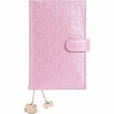 New 2017 Hello Kitty Schedule Book Diary Date Book Sanrio Japan Embossing Pink