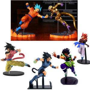 Dragon-Ball-Z-Super-Saiyan-4-Goku-Gogeta-Super-Broli-Frieza-Figure-FES-vol-6-Toy
