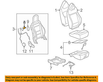 GM OEM Front Seat-Release Handle 25863522