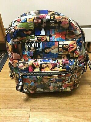 New Michelle Obama Magazine Style Backpack Purse Handbag Multicolored
