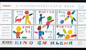 Stamps Netherlands Europe Sgms2261 Mnh 2002 Child Welfare Removing Obstruction