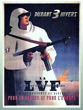 WW2 - Photo Affiche  recrutement pour la Légion des volontaires français - LVF