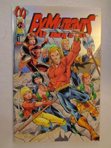 Ex-Mutants Platinum Edition Mason Olbrich Ulm #1 Malibu Comics November 1992 NM