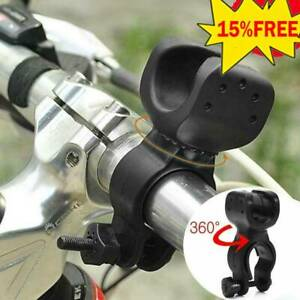 360° Cycling Bicycle Bike Mount Holder For LED Flashlight Torch Clamp Clip A8U0