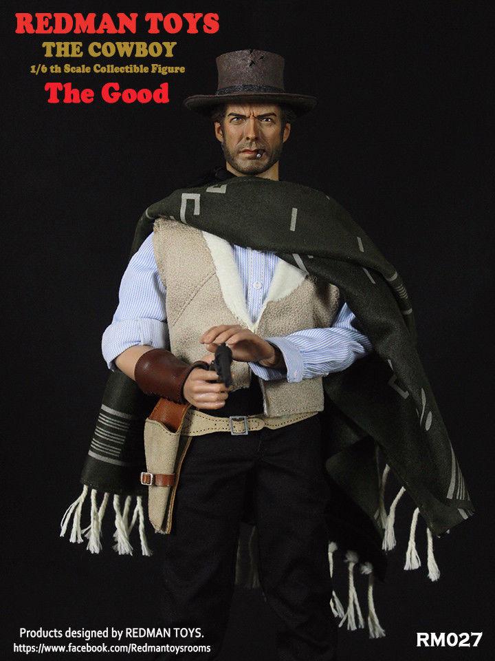 Rotman spielzeug rm027 eine handvoll dollar der cowboy clint eastwood (1   1) abbildung spielzeug