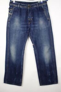 Diesel-Hommes-Pheyo-Jeans-Jambe-Droite-Taille-W33-L30-AOZ973