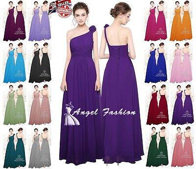 New Formal Long Evening Ball Gown Party Prom Bridesmaid Dress Stock Size 8-24