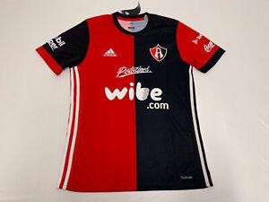 Details about NWT Men's Adidas Atlas Jersey 17/18 Sz M Medium soccer jersey futbol Guadalajara