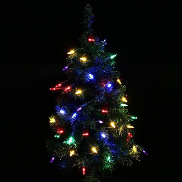 Battery Operated Outdoor Christmas Trees: WATERPROOF 19' 50 LED Battery Operated Christmas Tree Mini