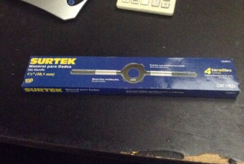 "Surtek 123911 Die Handle 1 1//2/""  4 Screws"