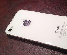 Carbon Fiber Apple iPhone Sticker Vinyl Decal Logo Skin 4 4S 5 5C 5S 6 6S Plus 7