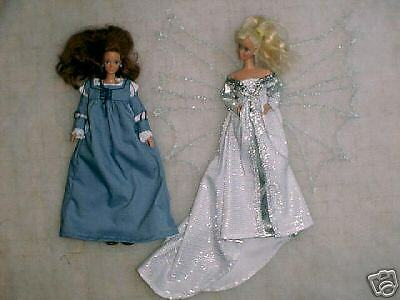 """NG Creations Sew Pattern #PP22 Costumes from movie /""""EverAfter/"""" fits Barbie Doll"""
