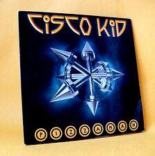Cardsleeve Single CD CISCO KID Pizzaman 2TR 2001 jump style hard house