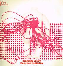 "LP 12"" 30cms: Tangerine Dream: electronic meditation. ohr. krautrock"