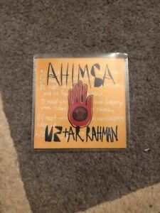 U2-A-R-RAHMAN-Ahimsa-1-Track-Brazilian-CD-Promo-New