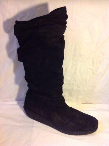Boots Emmedieci Knee Size Suede Black 44 High M10 WSSqA6aR