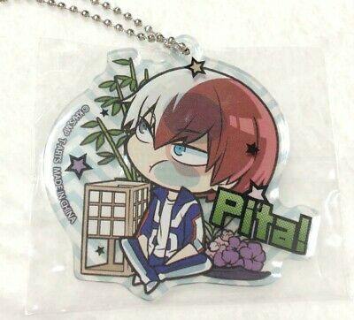 My Hero Academia Pita Acrylic Keychain Strap Shoto Todoroki UA Kohei Horikoshi