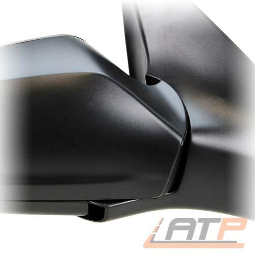 Espejo exterior derecha convexo negro eléctricamente Opel Astra H hasta 09//09 BJ