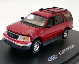 Anson-coche-modelo-de-escala-1-43-80804-Ford-Expedition-Rojo