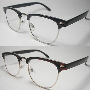 reading glasses clear horn retro vintage style