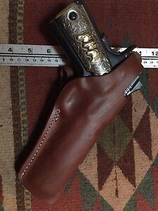 à 45 Kimber Colt Ati modèle Taurus à 1911 étui cuir pouce utilisé Convient Ria en UAYdUq