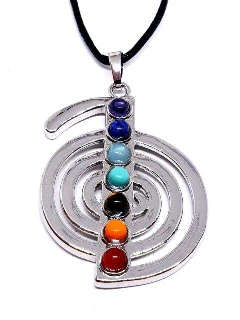 Cho ku rei healing reiki silver plated cord necklace gem pendant ebay cho ku rei healing reiki silver plated cord necklace gem pendant mozeypictures Choice Image