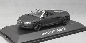 Schuco-AUDI-R8-SPYDER-034-Concept-Nero-034-2012-450752460-0-1-43-NUOVI-LTD-ED