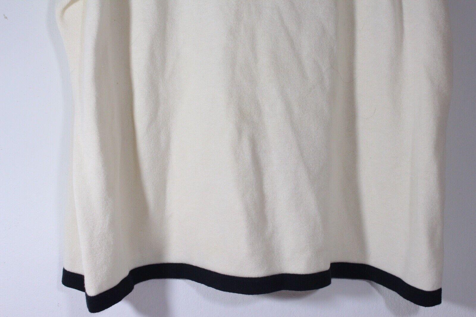 Christopher & Banks Womens Cream Sleeveless Shirt… - image 3