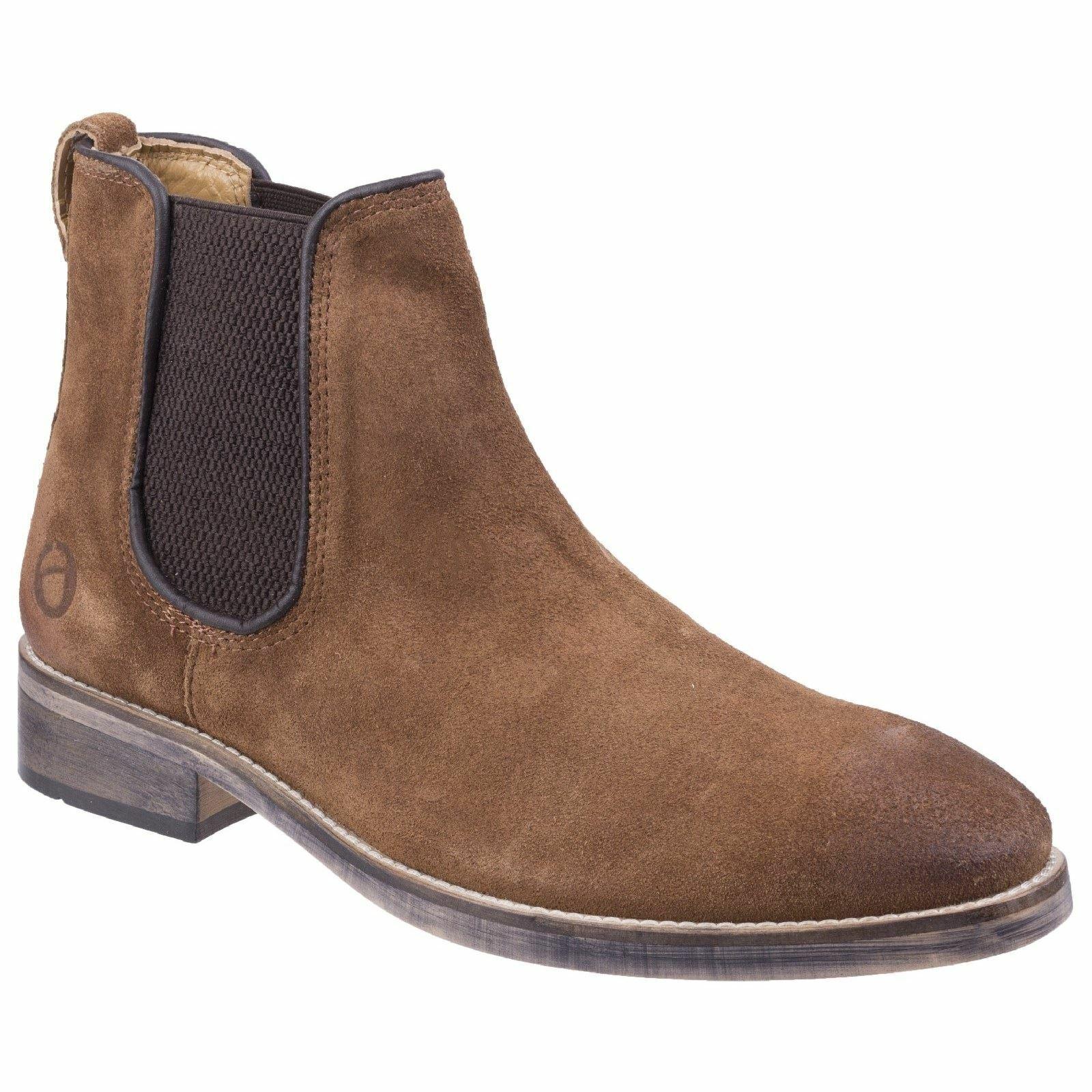 botas de cuero para hombre Cotswold Corsham Camel